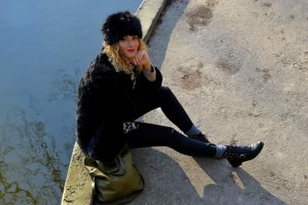 outfit, mode, blog, fashion blog, rock my casbah, fausse fourrure