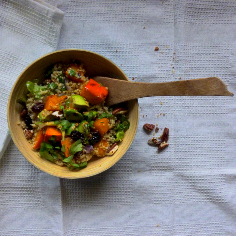 salade quinoa potimarron
