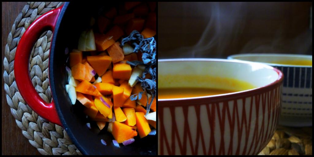 velouté de butternut, recette saine, recette végétarienne, rock my casbah
