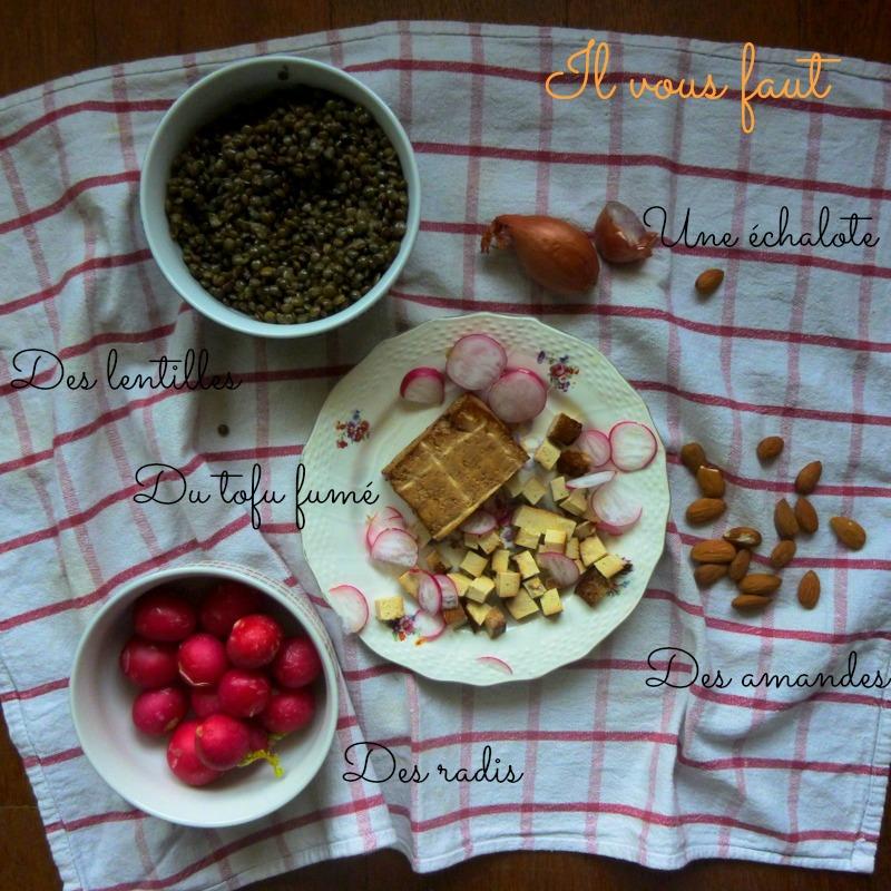 salade de lentilles, recette végétarienne, rock my casbah
