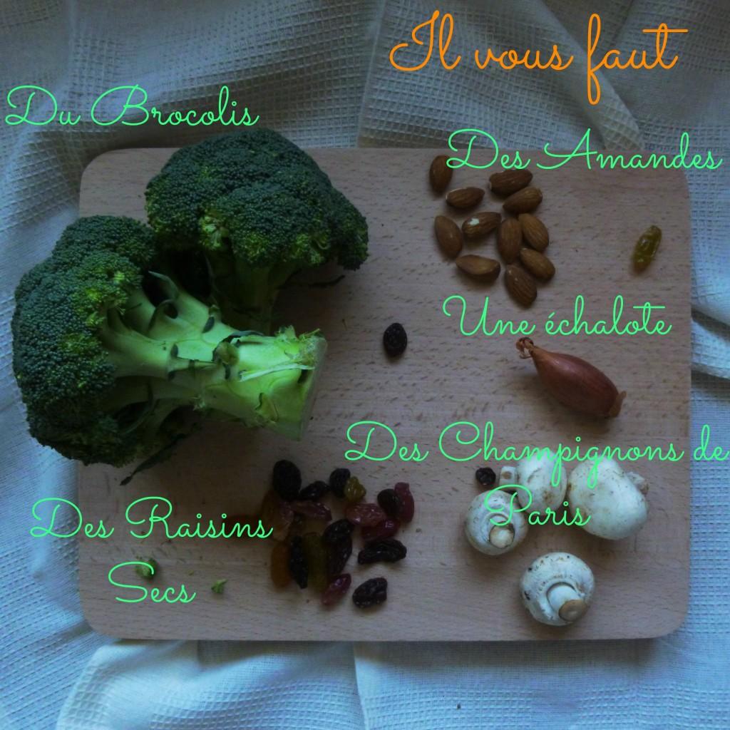 food, recette, healthy, salade de brocolis, blog culinaire, rock my casbah