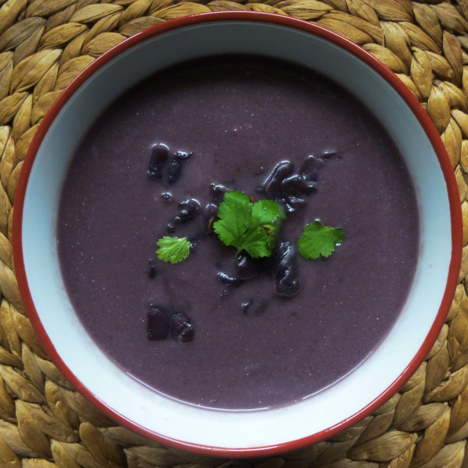 velouté, chou rouge, végétarien, veggie, healthy, vegan, rock my casbah
