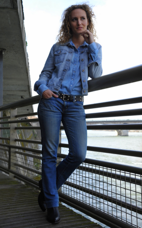 blue jeans, blog mode