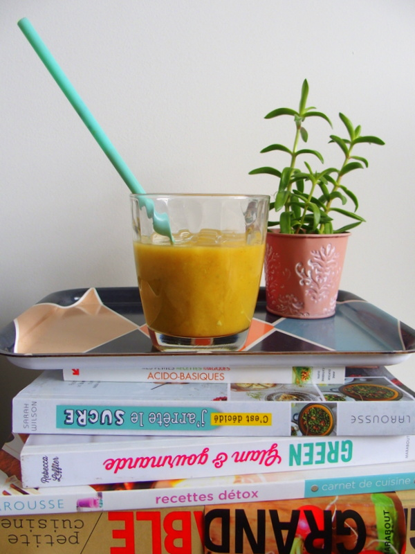 recette smoothie mangue alcalin detox healthy blog toulouse