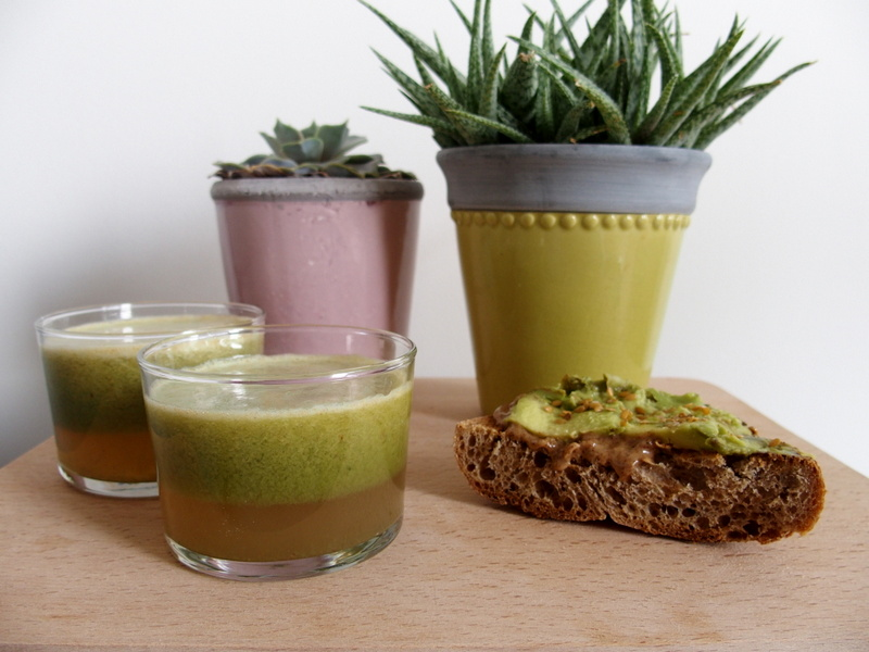 recette green juice jus vert alcalin detox healthy blog toulouse