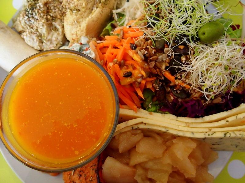 restaurant végétarien toulouse healthy veggie vegan brunc blogueuse rock my casbah