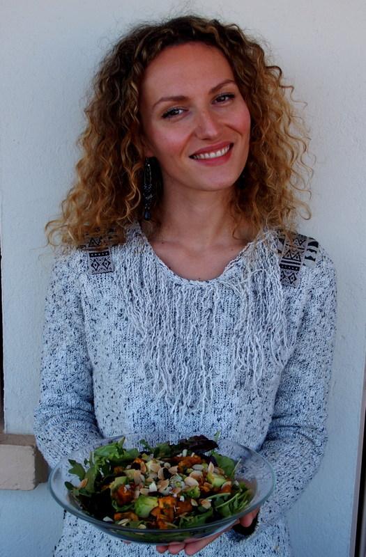 salade patate douce recettes healthy cuisine saine veggie blogueuse toulouse rock my casbah