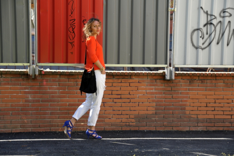 ootd blog mode look chic fashion blo blogueuse tououse jean blanc