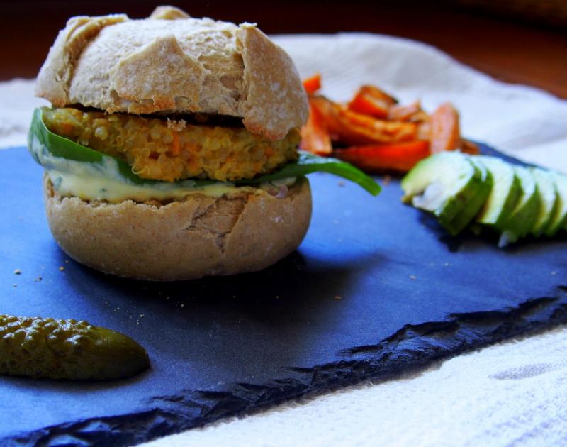 recette buger végétarien healthy blogueuse toulouse lifestyle blog