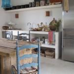 cuisine vintage bohème