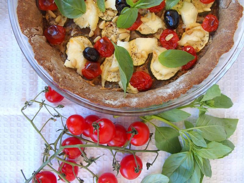 tarte tomate moutarde pâte àa tarte sans gluten recettes healthy blog rock my casbah