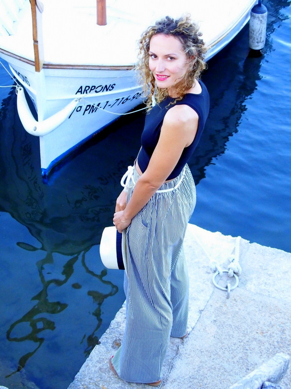 obélix pantalon large look té 2015 ootd blog mode Toulouse rockm y casbah blogueuse