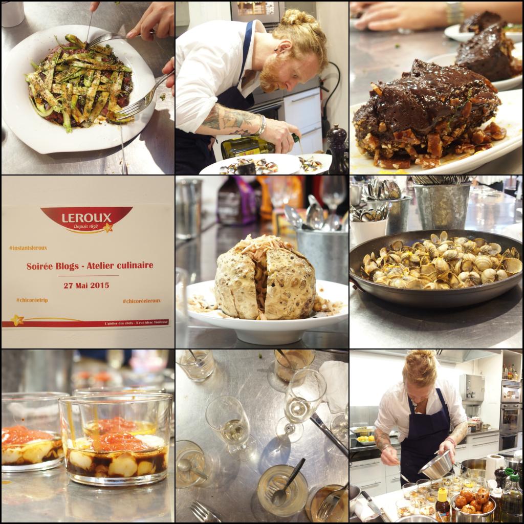 chicorée leroux nicolas pourcheresse atelier des chefs toulouse blog culinaire