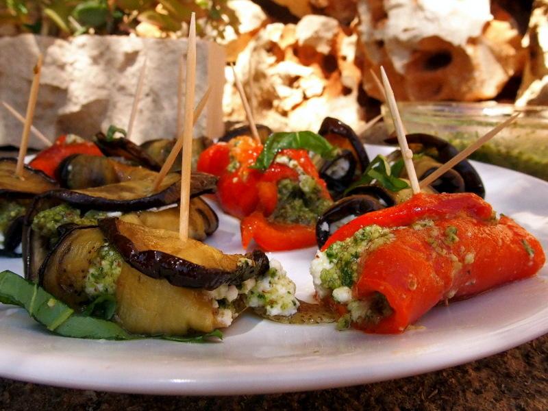 sauce pesto recette fraîche pour l'été poivrons grillés blog cuisine rock my casbah toulouse