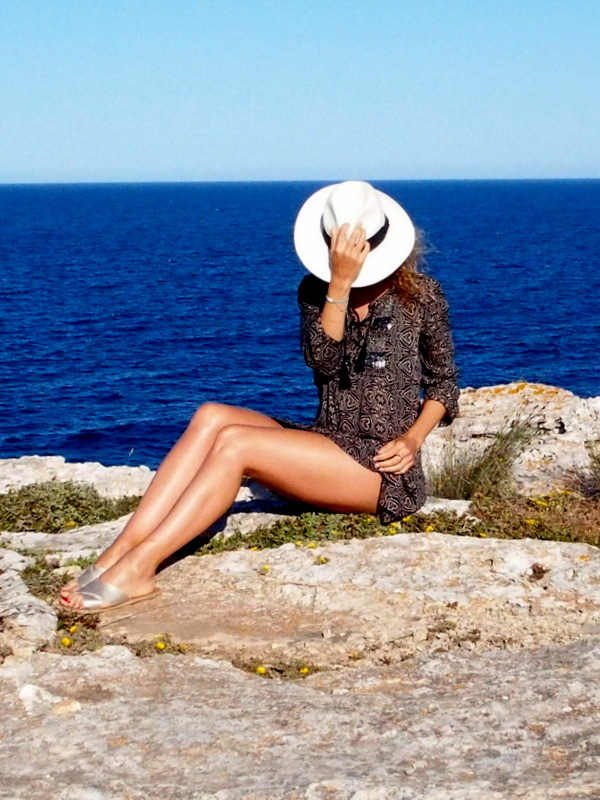 tenue de plage, robe ethnique style boho blog mode rock my casbah
