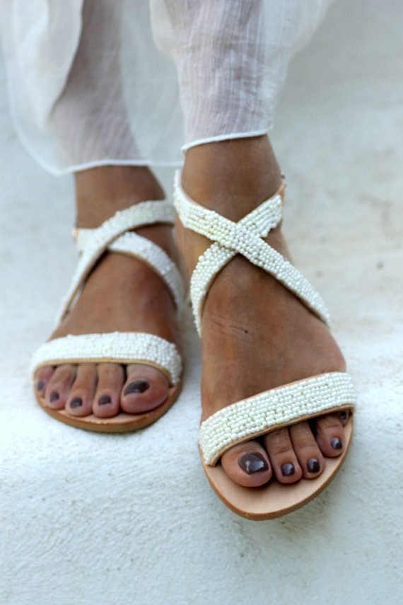 sandales grècques, lace up sandals greek sandals etsy blog mode rock my casbah