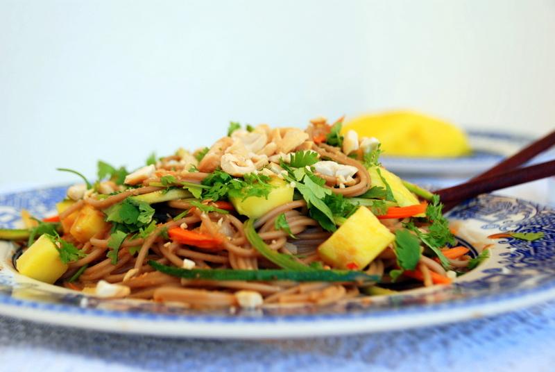 recette nouilles soba recette sans gluten blog végétarien cuisine asisatique