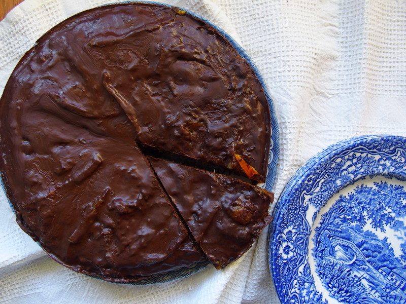 gâteau chocolat orange vegan sans gluten healthy blogueuse lifestyle toulouse