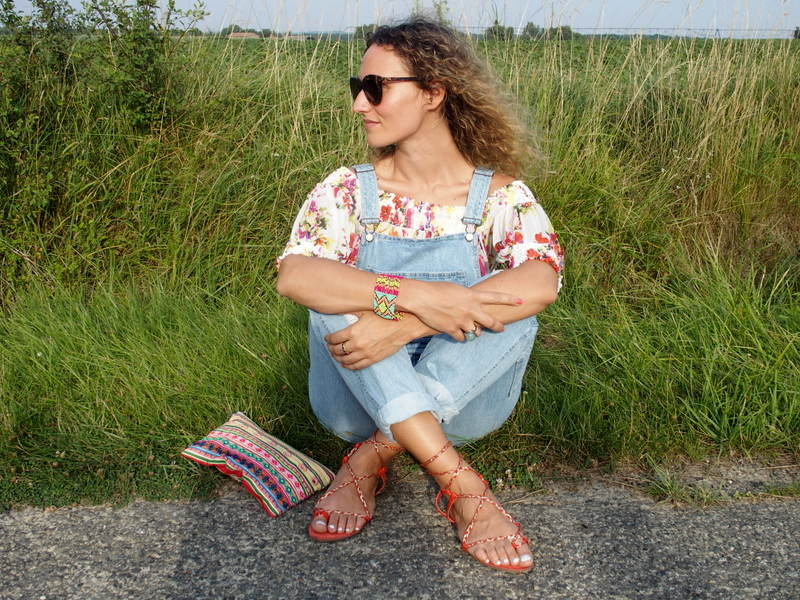 salopette, overall spartiate ootd outfit look blog mode toulouse rock my casbah