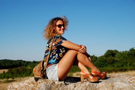 boho style summer outfit detroy jeans short jean blog mode Toulouse rock my casbah