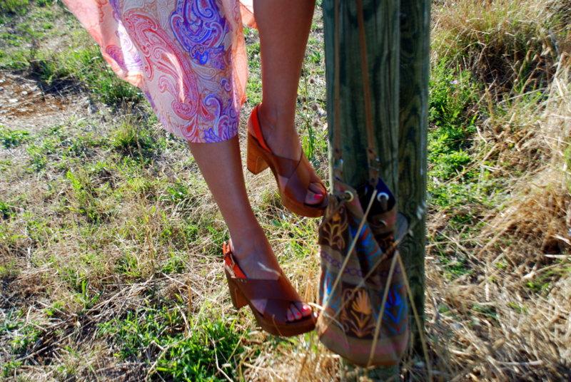 robe longue inspiration 70's style boho blog mode tendances mode 2016 blogueuse rock my casbah
