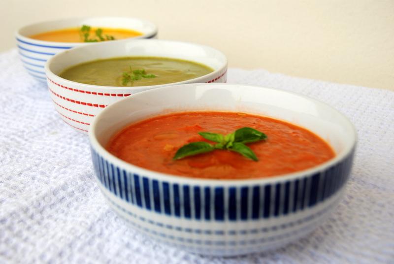 soupe tomates rôties, soupe froide aux légumes du soleil, recette gaspacho blog culinaire blog lifestyle Toulouse rock my casbah recette minceur recettes detox
