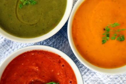 soupe froide de courgettes soupe courgettes avocat recettes détox recettes minceur blog lifestyle toulouse rock my casbah