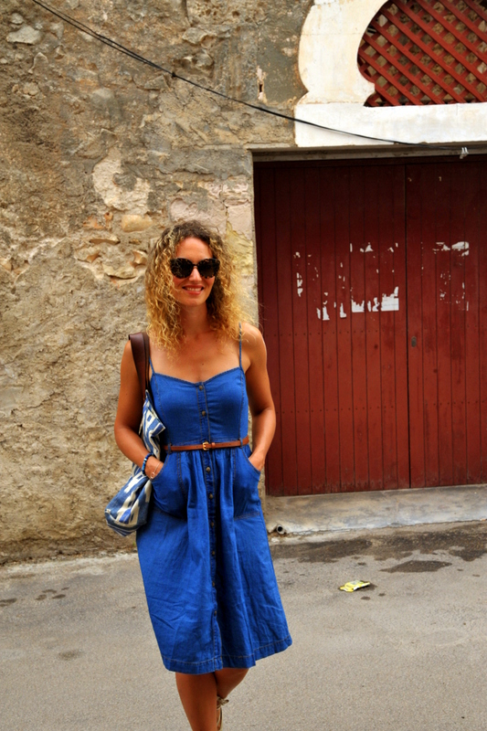 robe jean espadrille style boho bohème blog mode Toulouse blogueuse fashion blogger rock my casbah