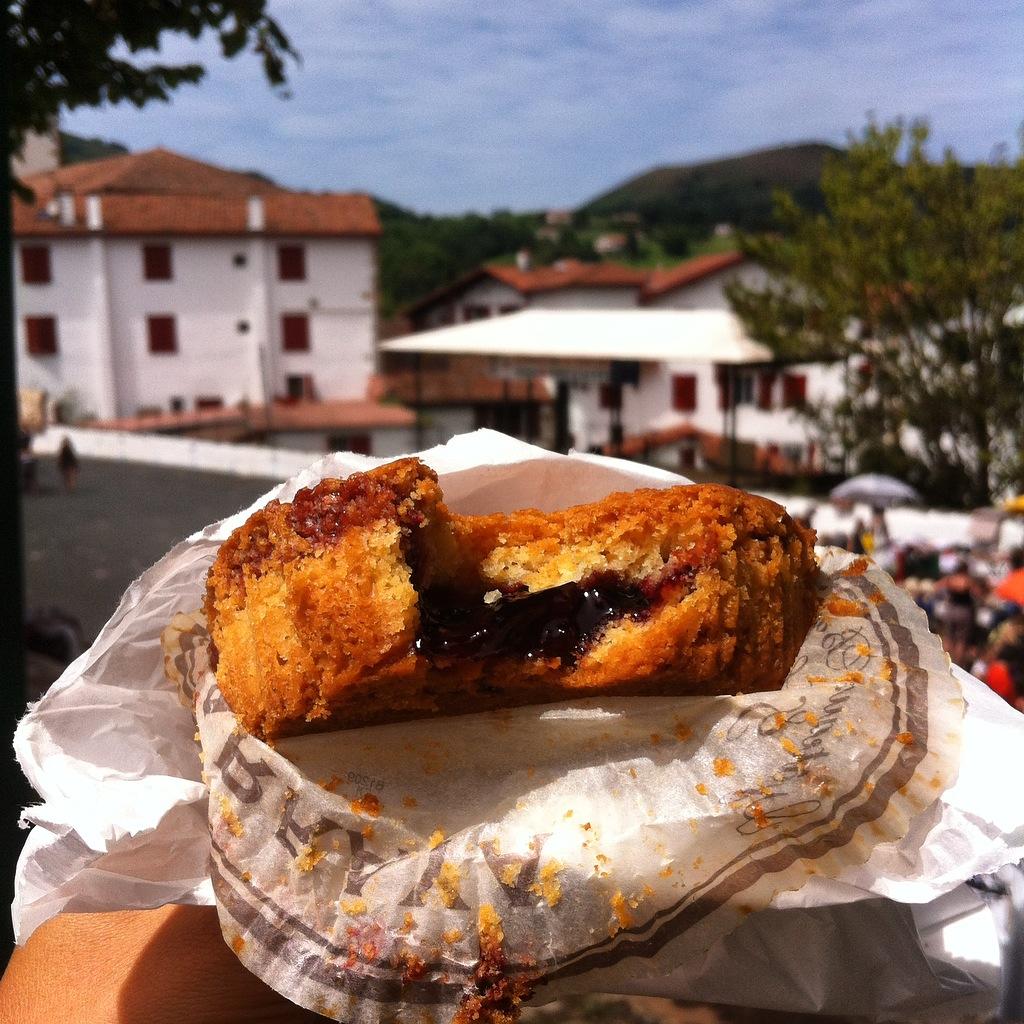 gâteau basque Pays basque blog lifestyle blog déco voyage mode rock my casbah Toulouse