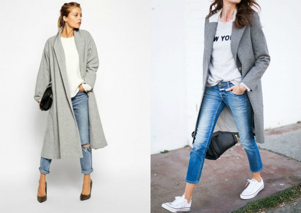 ootd outfit tendances mode automne 2015 inspiration fall 2015 fashion blogger blog mode rock my casbah manteau gris