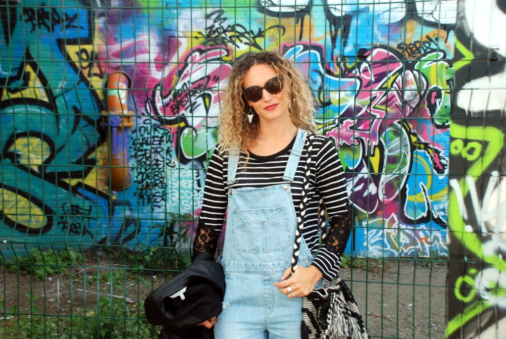 salopette overall new balance look automne 2015 blog mode