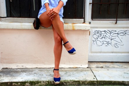 summer outfit look automne short casual minimal fashion blog blog mode rock my casbah