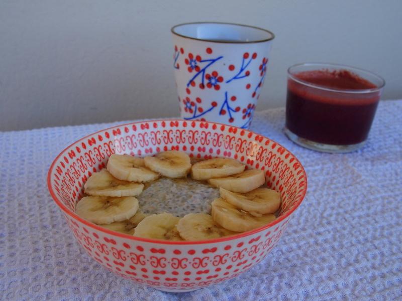 porridge graines de chia lait de coco raw food cru recette healthy végan veggie blog de cuisine végétarienne rock my casbah