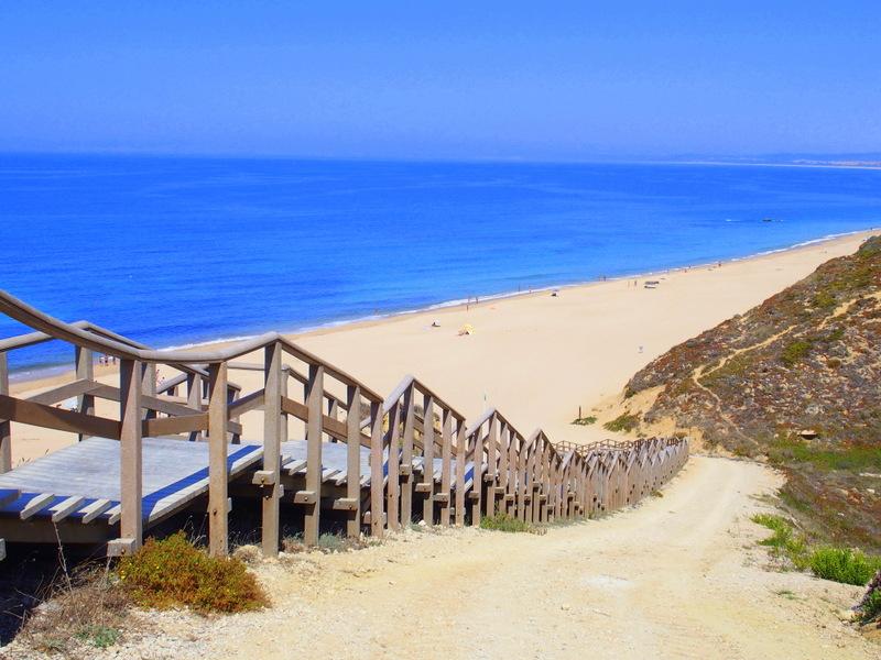 praia das bicas portugal