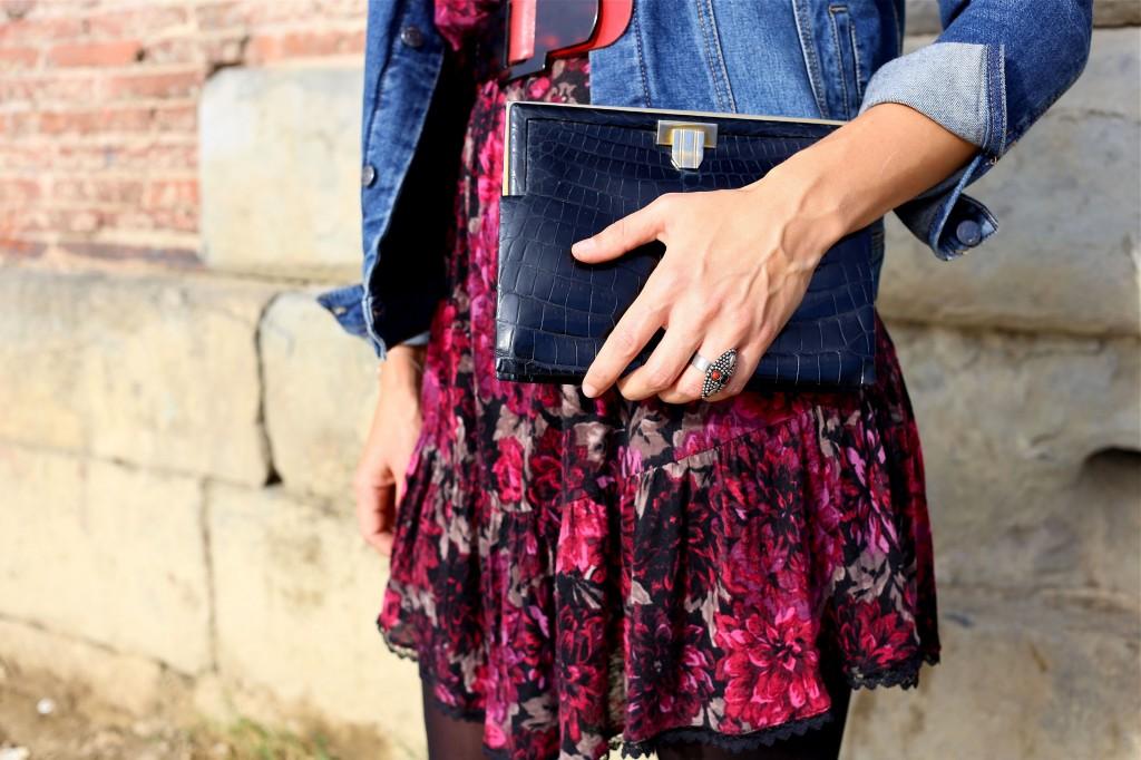 robe à fleurs bohème