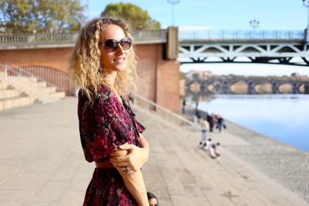 j'ai 30 ans babies la redoute robe à fleur inspiration 70's vintage blogueuse mode toulouse