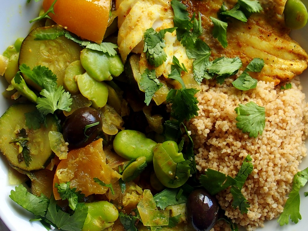 tajine de poisson fève citrons confits recettes saine régime détox acido basique healthy