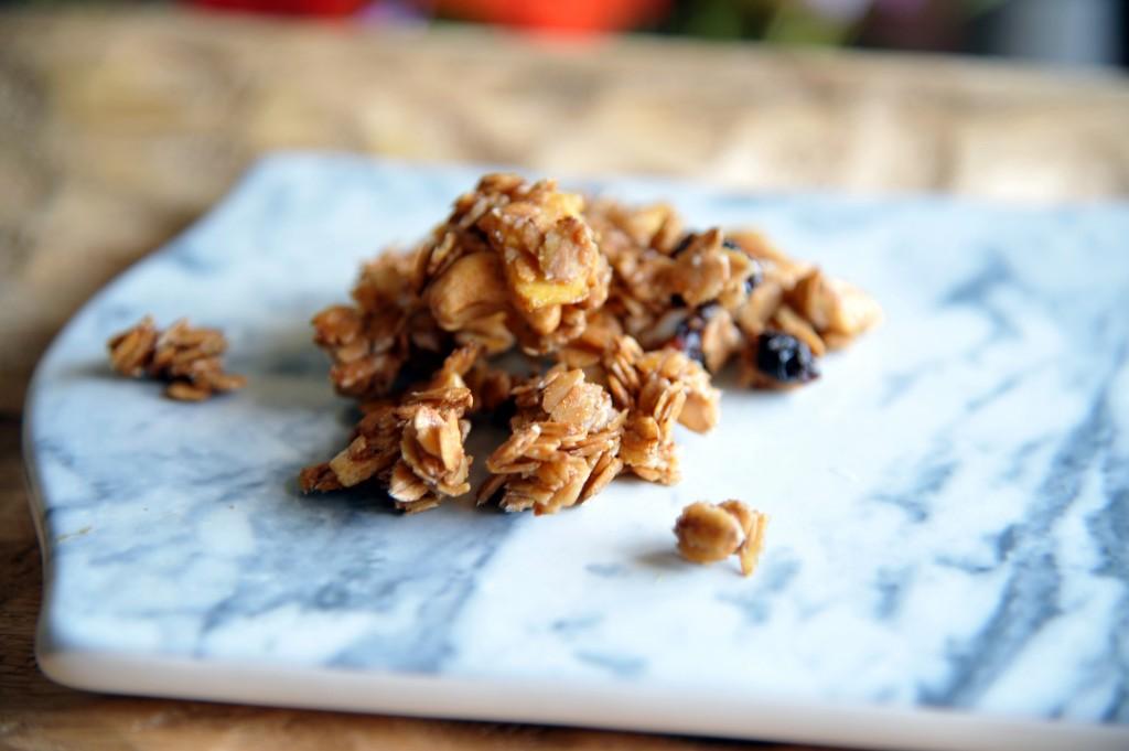 recette müesli granola maison céréales petit déjeuner recette saine detox vegan végétarienne blog lifestyle
