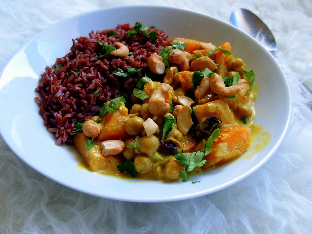 recette curry végétarien vegan végatalien butternut