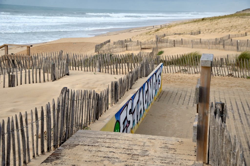 seignosse plage des estagnots spot surf landes france