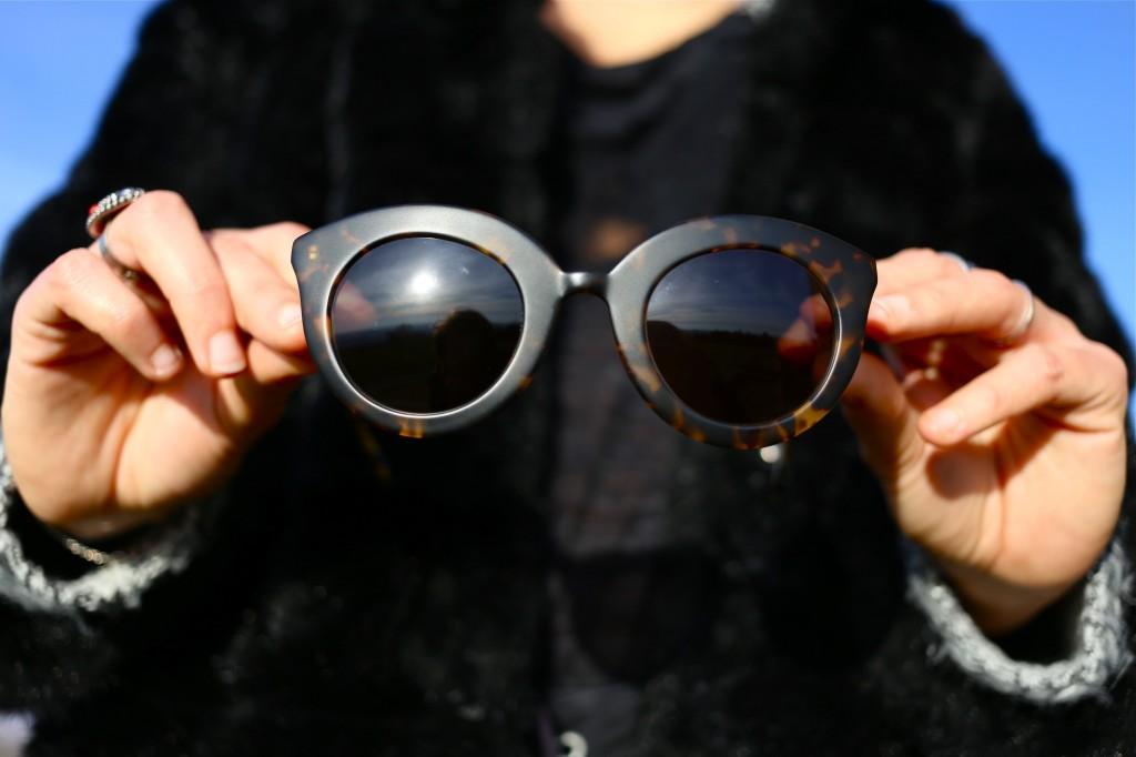 lunettes de soleil écailles
