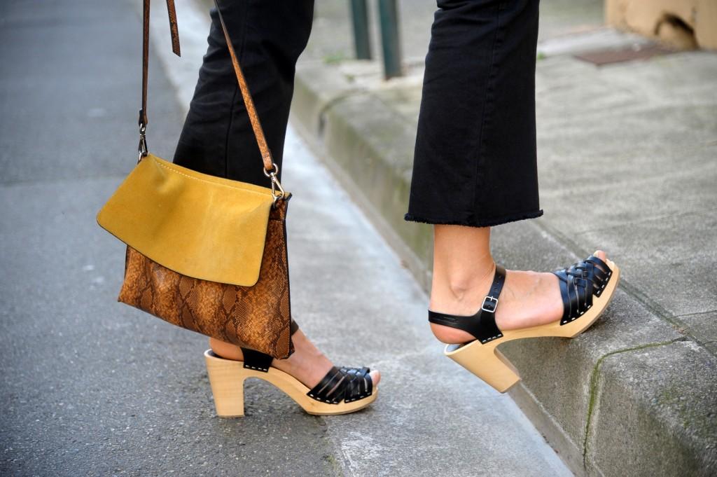 sandales sabots