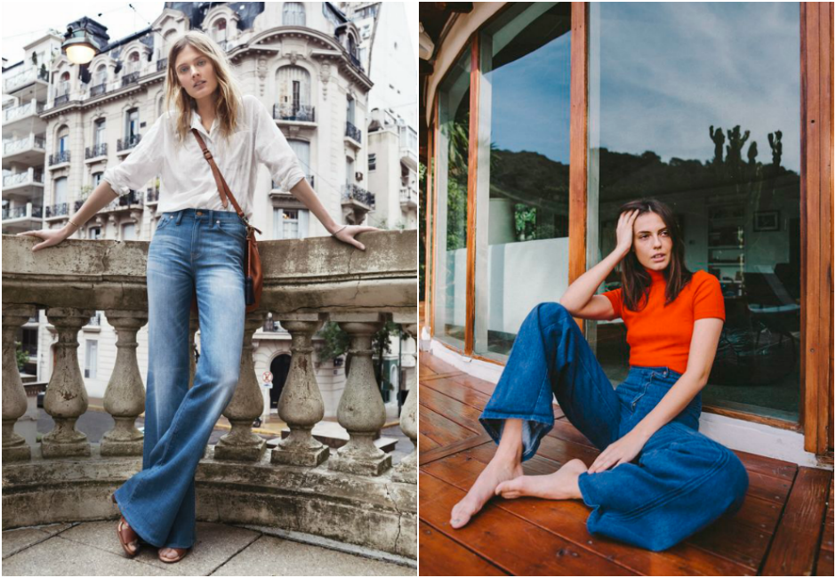 inspiration jean flare