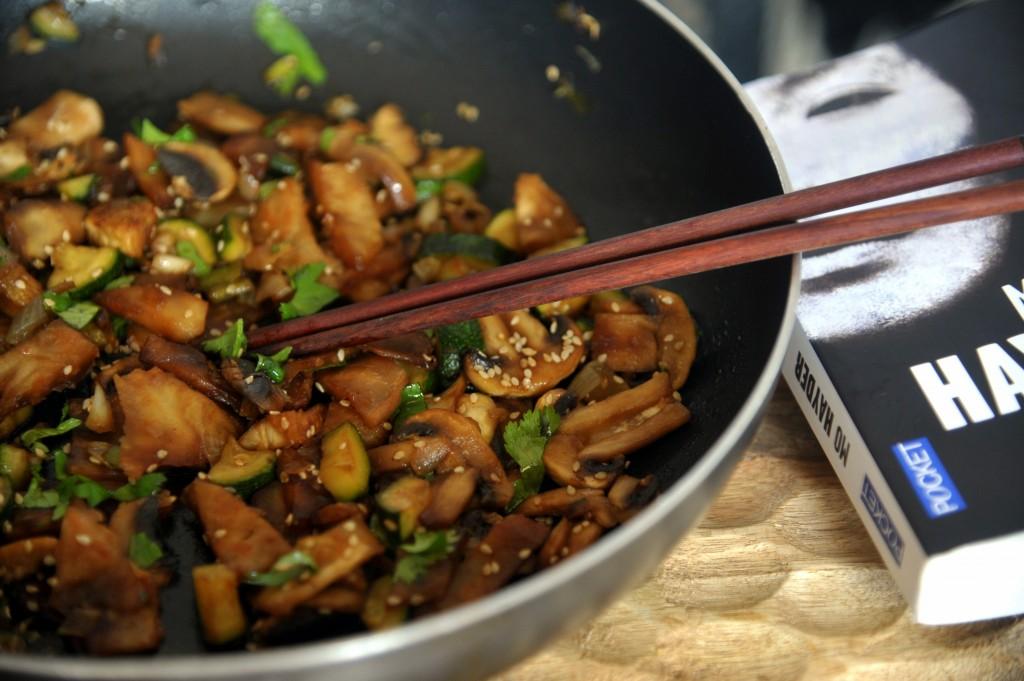 légumes sautés à l'asiatique