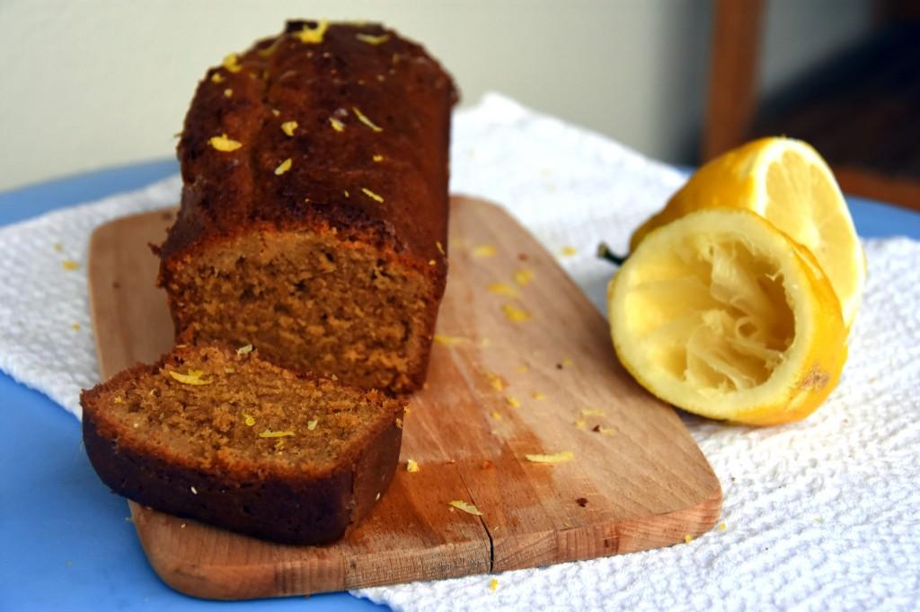gâteau au citron moelleux