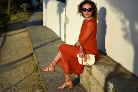 boho chic style blogger