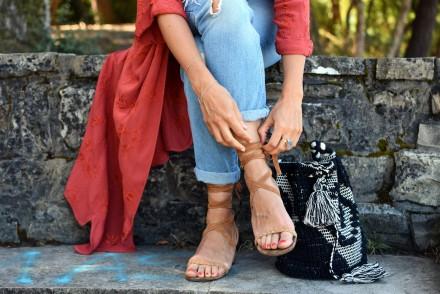 sandales-lacets+jean
