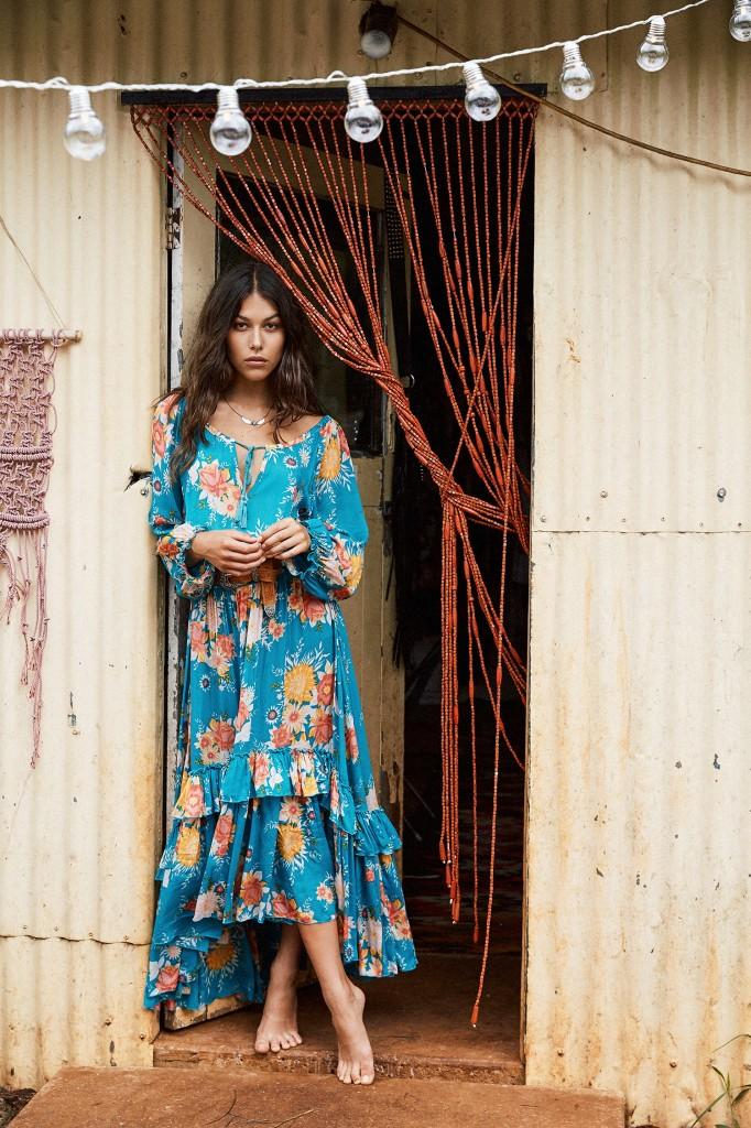 robe-longue-à-fleurs-bohème