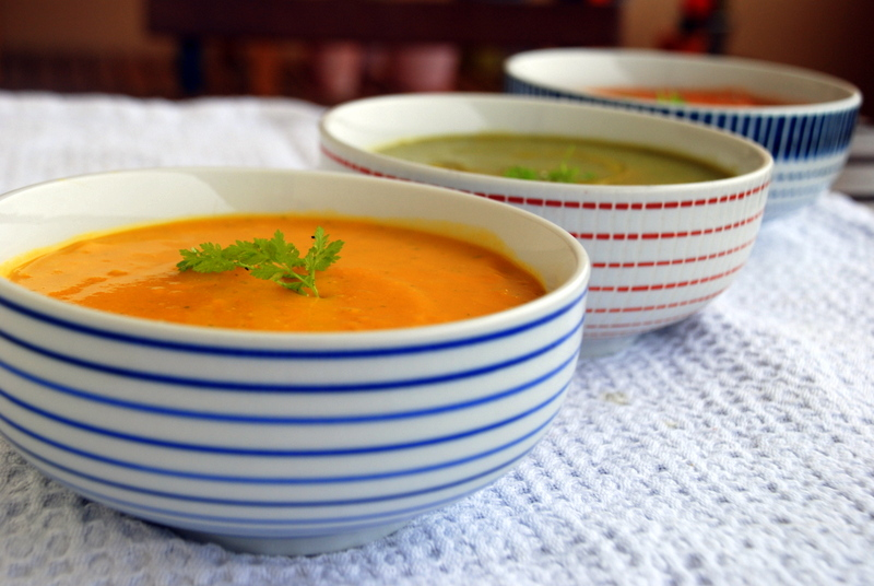 soupe froide carottes coco gingembre