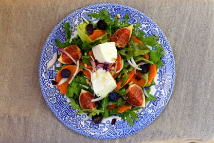 salade-d-automne-figues-mozzarella-butternut
